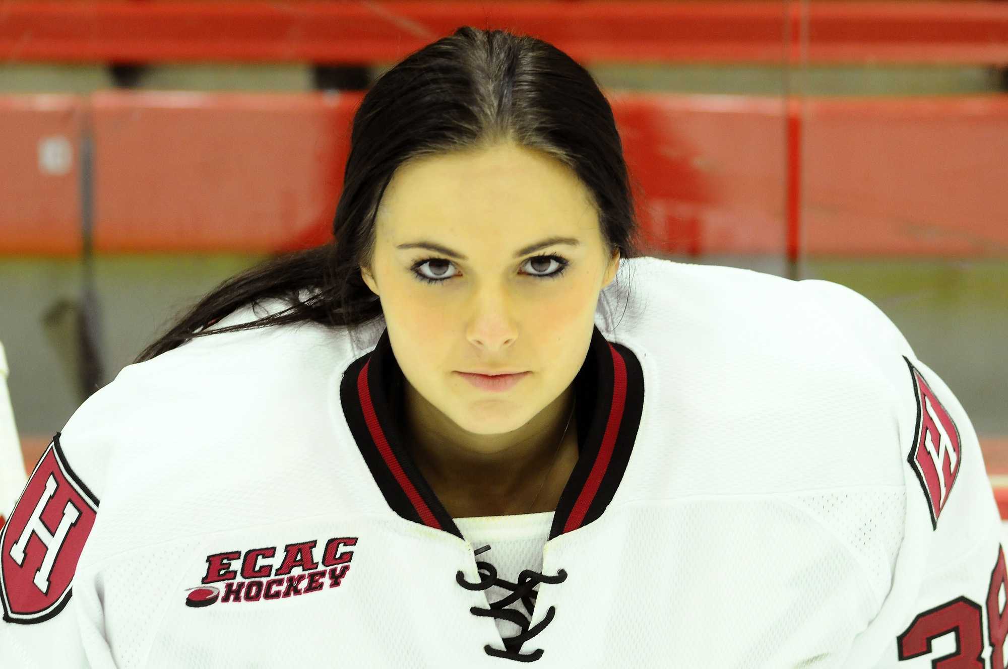 With Laura Bellamy '13 behind the bench as a coach, it is now up to sophomore Emerance Maschmeyer to protect the net.