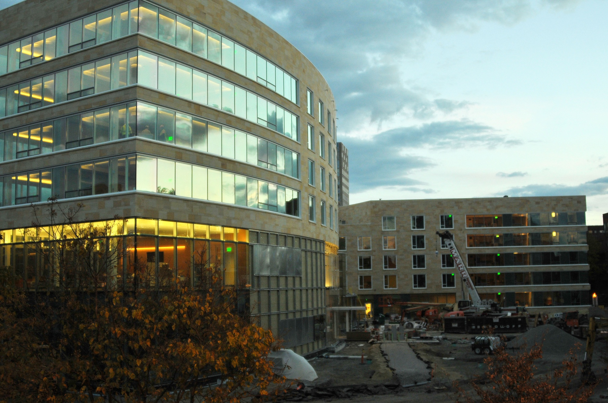 Tata Hall, the newest addition to the Harvard Business School campus, is slated for completion later this year.