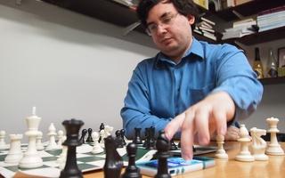 Blitzstein vs. Elkies Chess Game