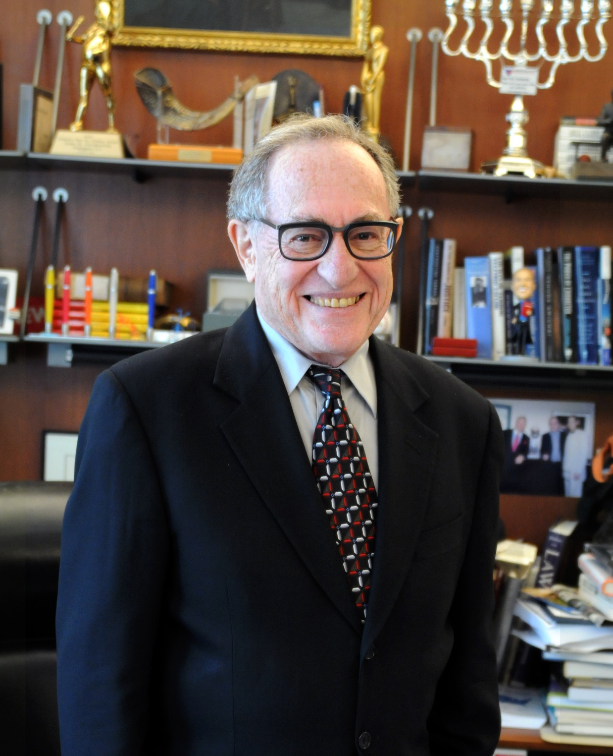 Harvard Law School professor emeritus Alan M. Dershowitz, pictured here in 2013.