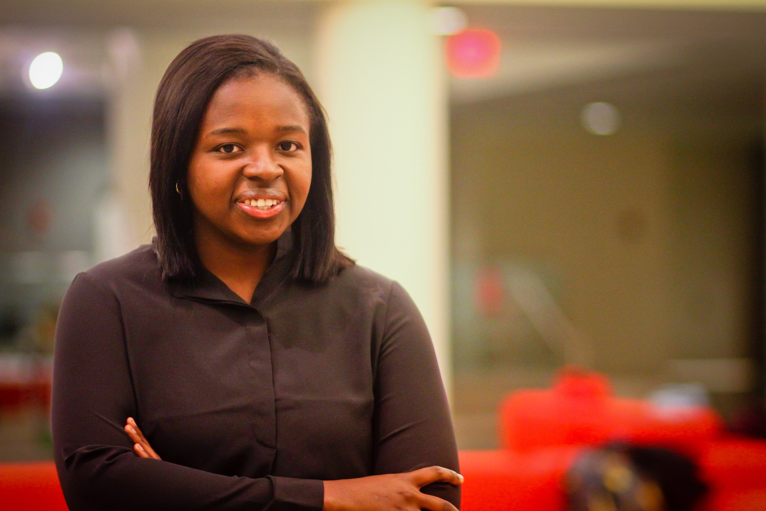 ImeIme A. Umana '14, pictured above as an undergraduate, will serve as the 131st President of the Harvard Law Review.