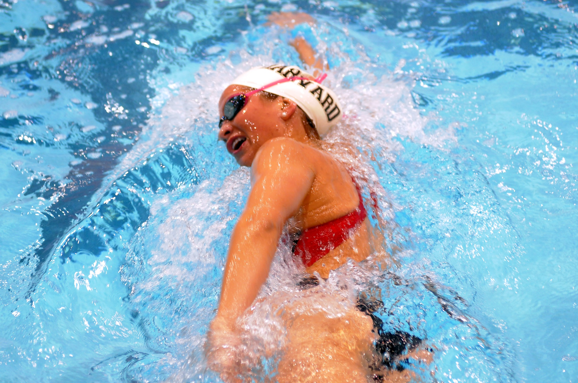 The women's swimming and diving team captured its third Ivy League title in six years this past weekend. Junior Kelsey Hojan-Clark, shown above in previous action, finished sixth in the 400 individual medley.