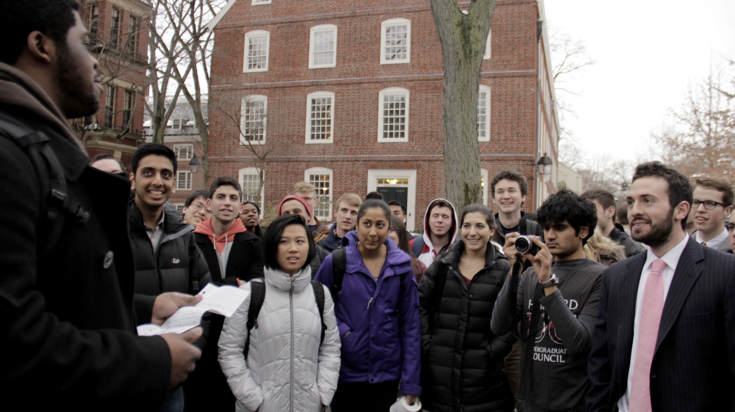 With public declarations to students replete with impassioned rhetoric about the need for more funding, they convened with several top Harvard administrators and hosted a rally outside Massachusetts Hall.