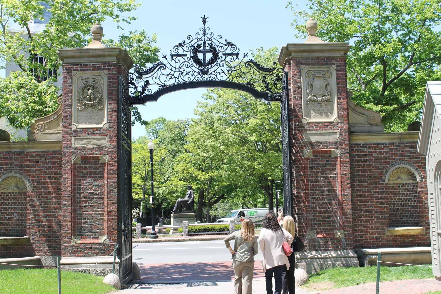 Low income students walk through the gates of an Ivy League school worried that they will not be able to fit in.