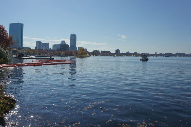 Charles River Esplanade views