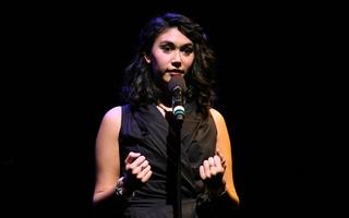 Spoken Word Poet Takes the Stage