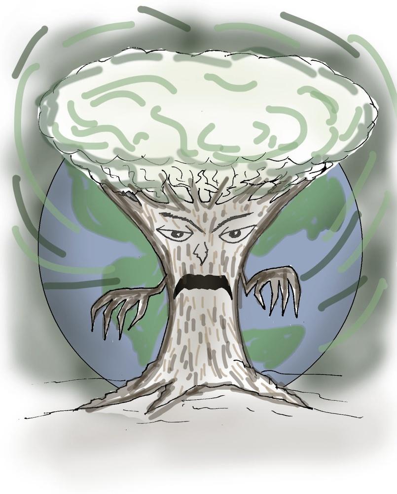 Us vs. the trees?