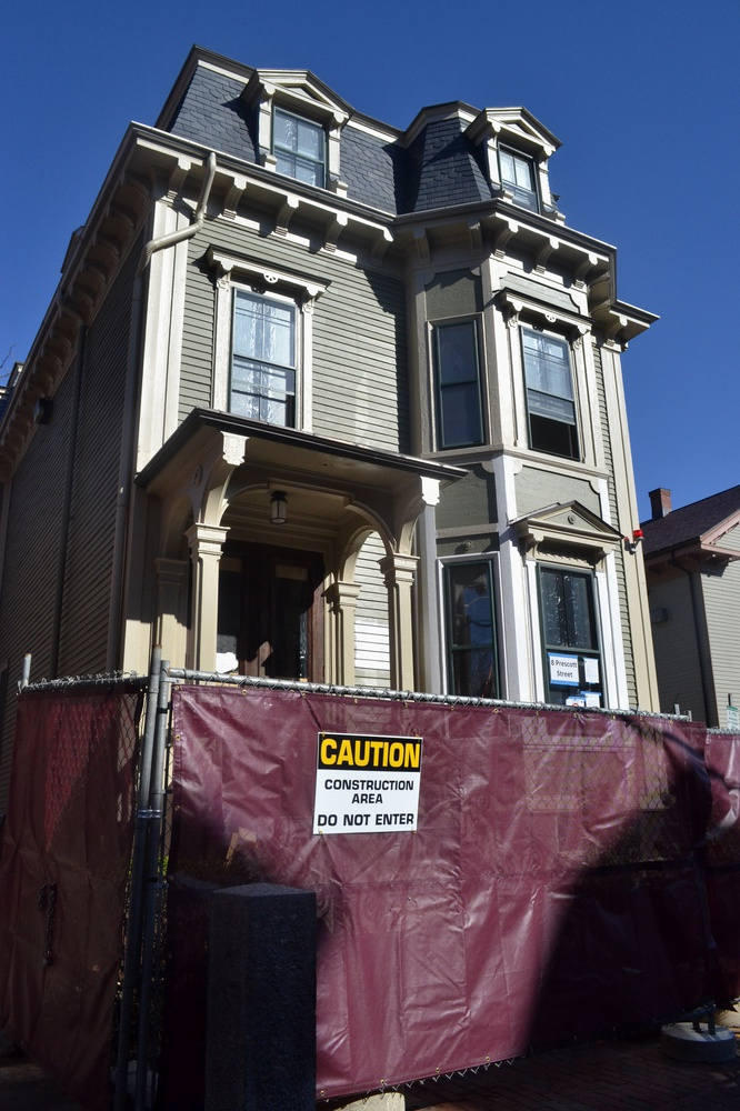 The building at 8 Prescott Street will be the temporary residence for House Masters whose dormitories are undergoing renovation.
