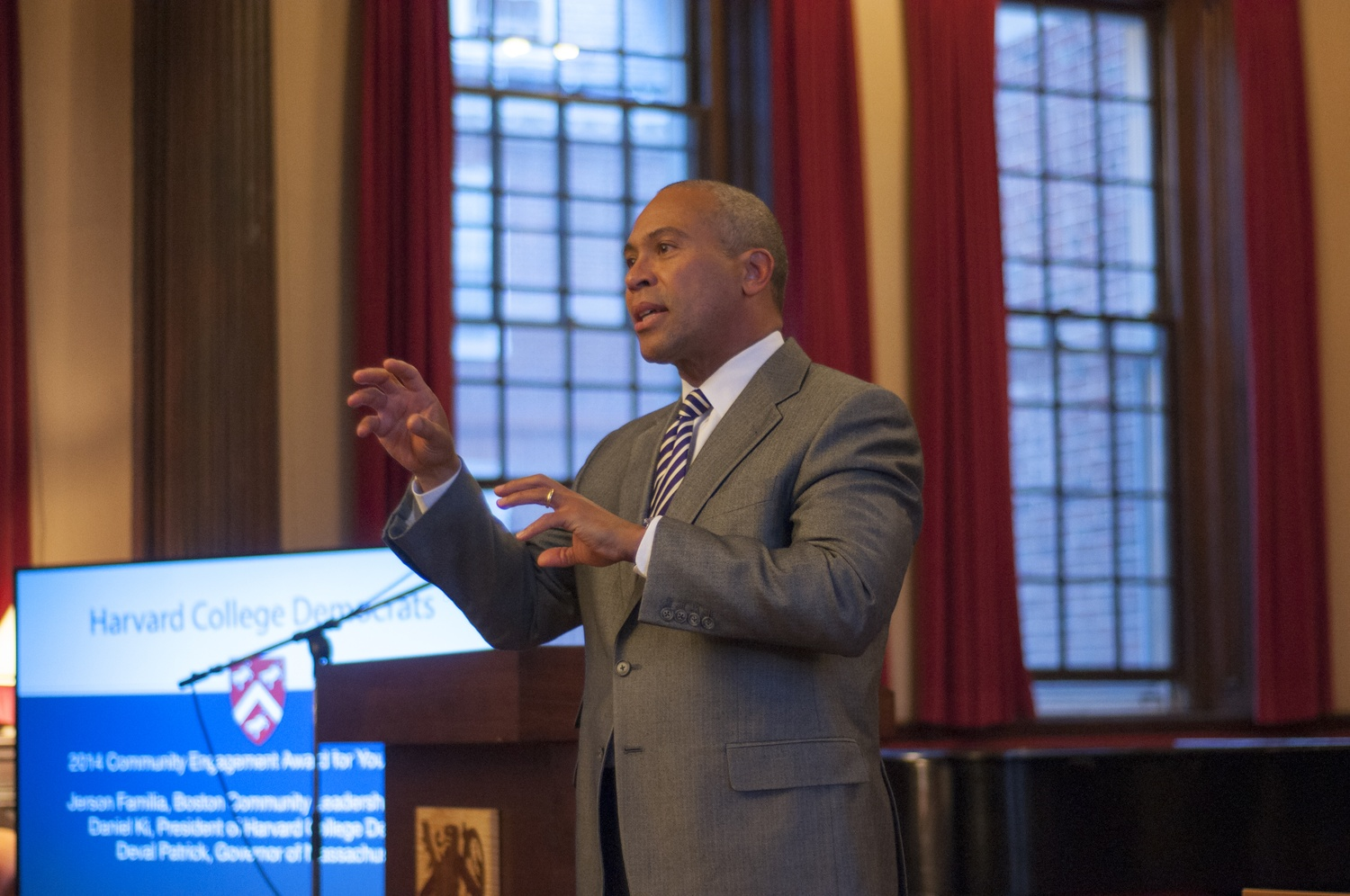 Former Massachusetts Governor Deval L. Patrick '78 will speak at Harvard's 364th Commencement.