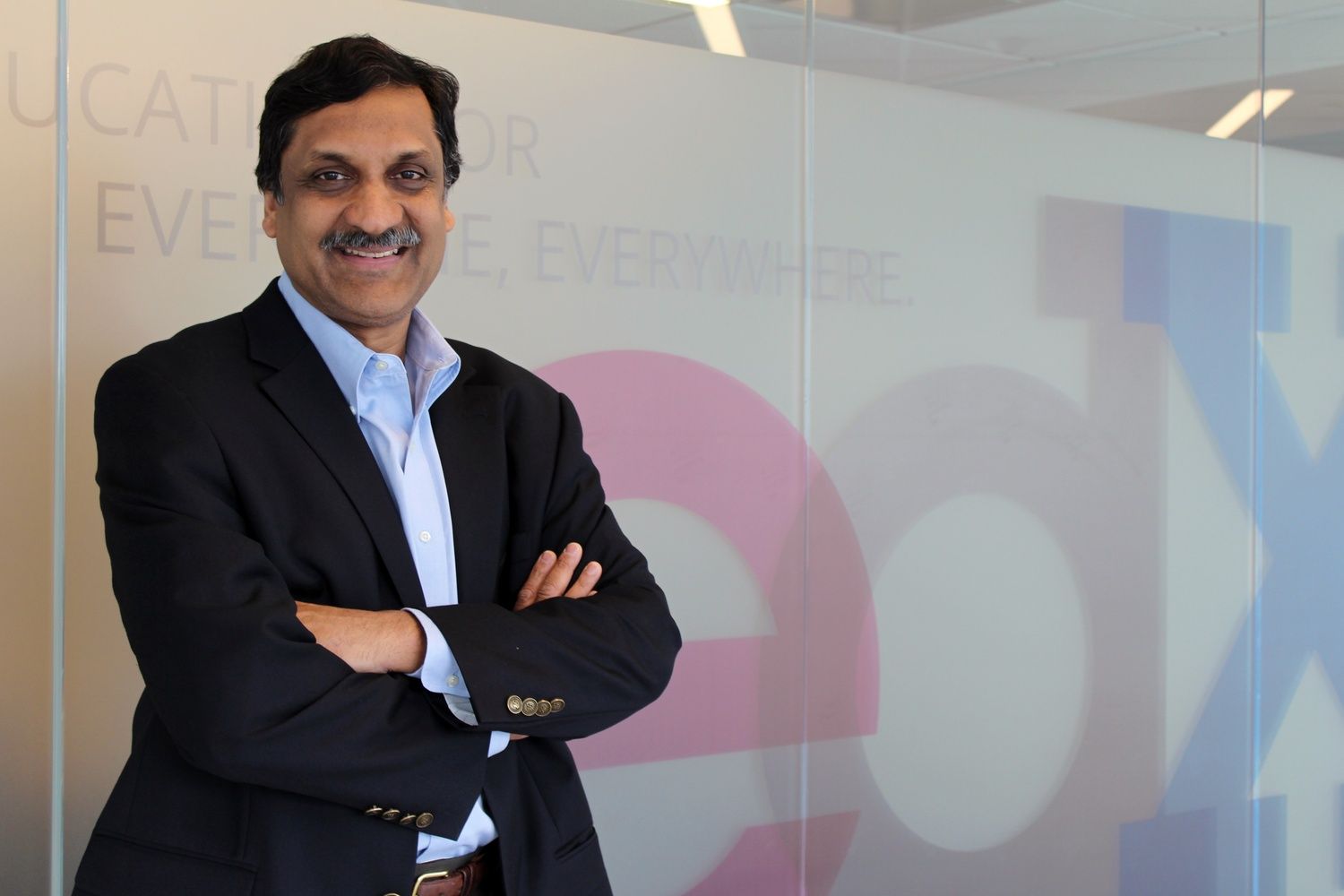 Anant Agarwal, an MIT computer science professor, has served as CEO of edX since its establishment in 2012.