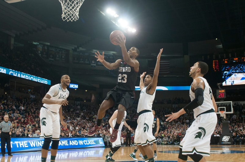 Year in Sports - Game of the Year - Men's Basketball vs. Michigan State - Wesley Saunders