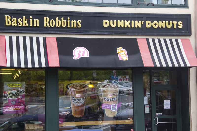 Dunkin Donuts on Bow St.