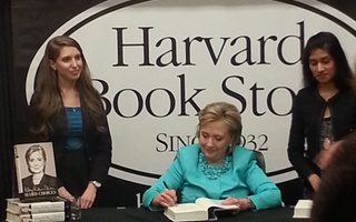 "Clinton Signs ""Hard Choices"""