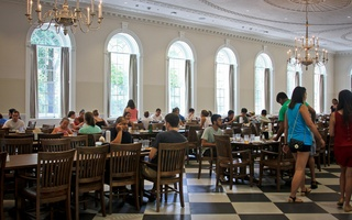 New Leverett Dining Hall