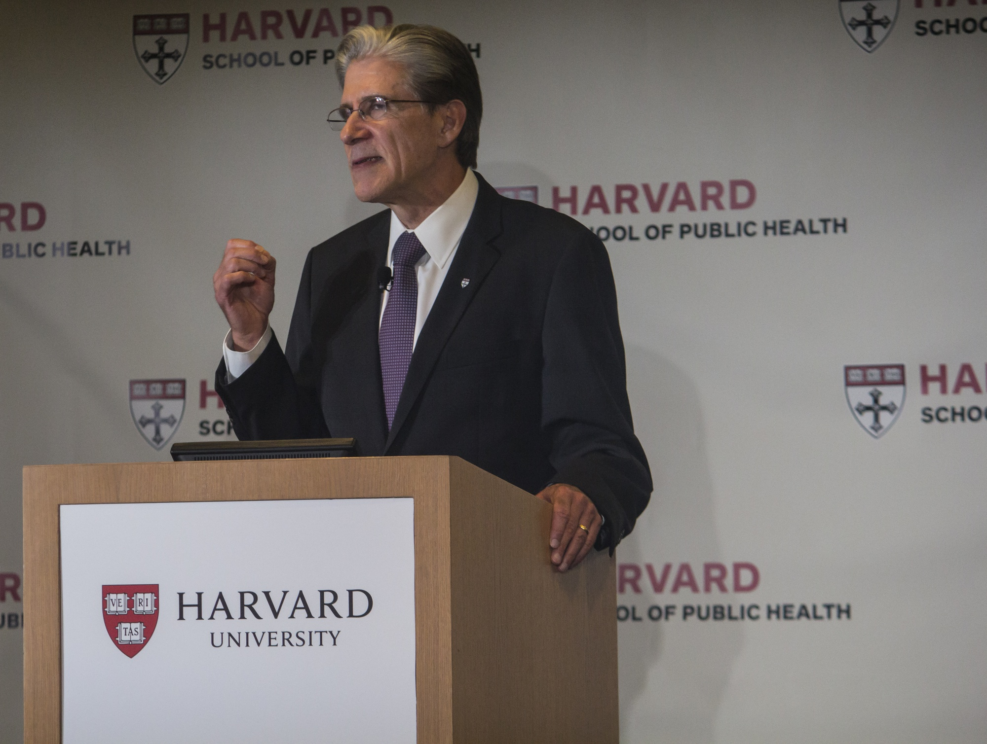 Julio Frenk, the dean of the Harvard School of Public Health, talks on Monday about the school's history, its achievements, and the future of public health across the globe.