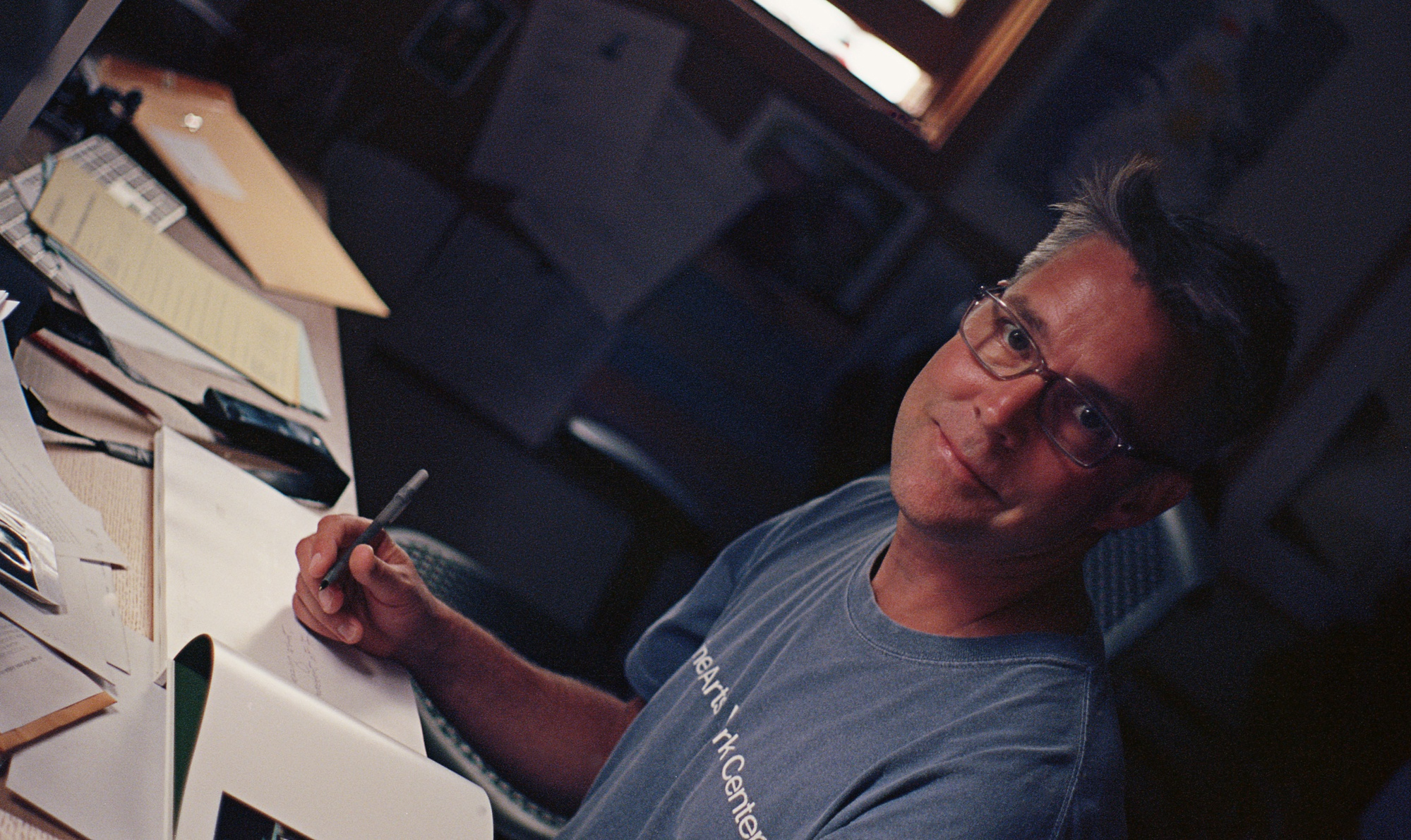 David Hilliard is a visiting artist at the Carpenter Center this year.