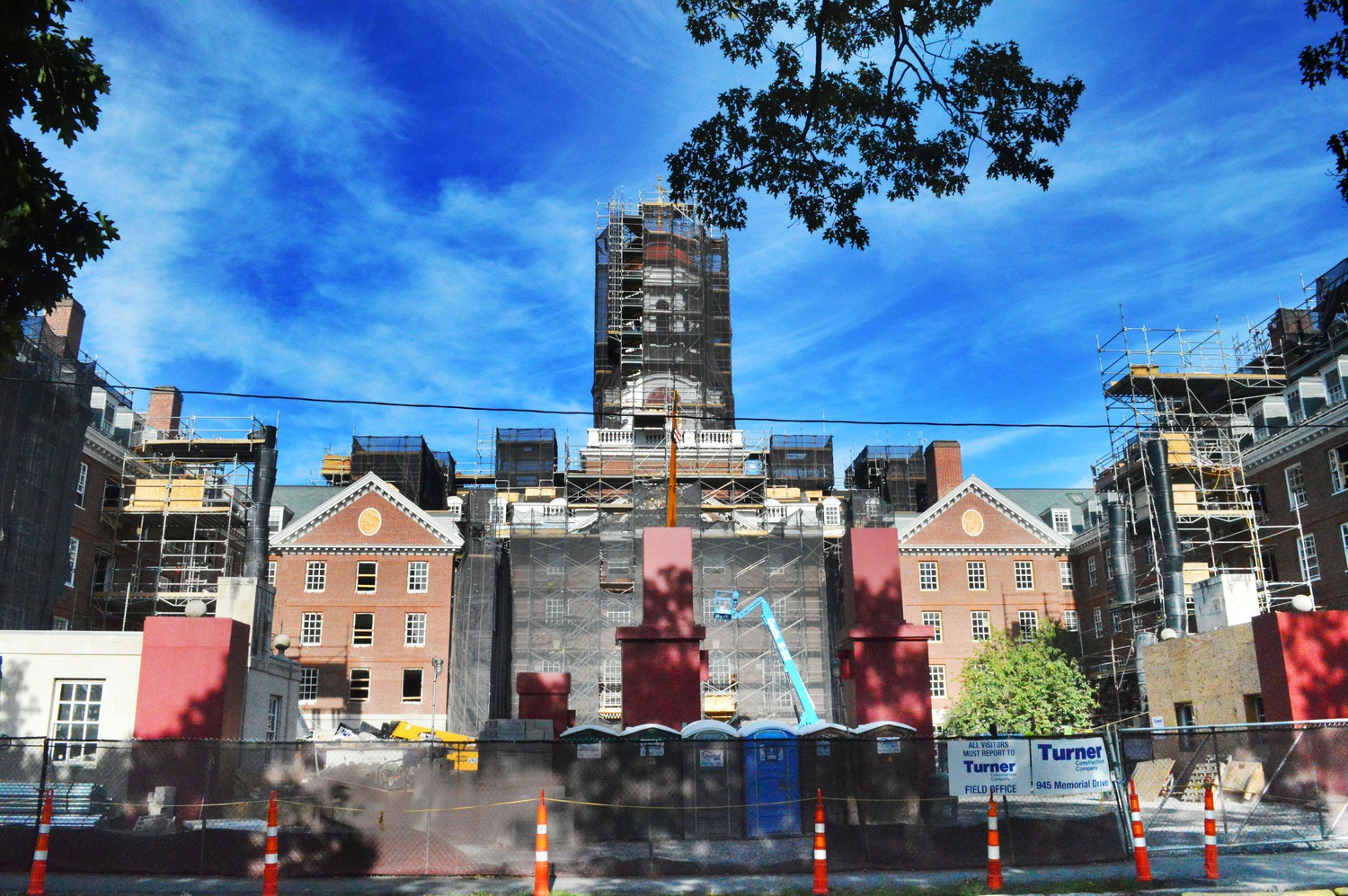 Dunster House has been under construction since June 2014 and is slated to reopen in September 2015.