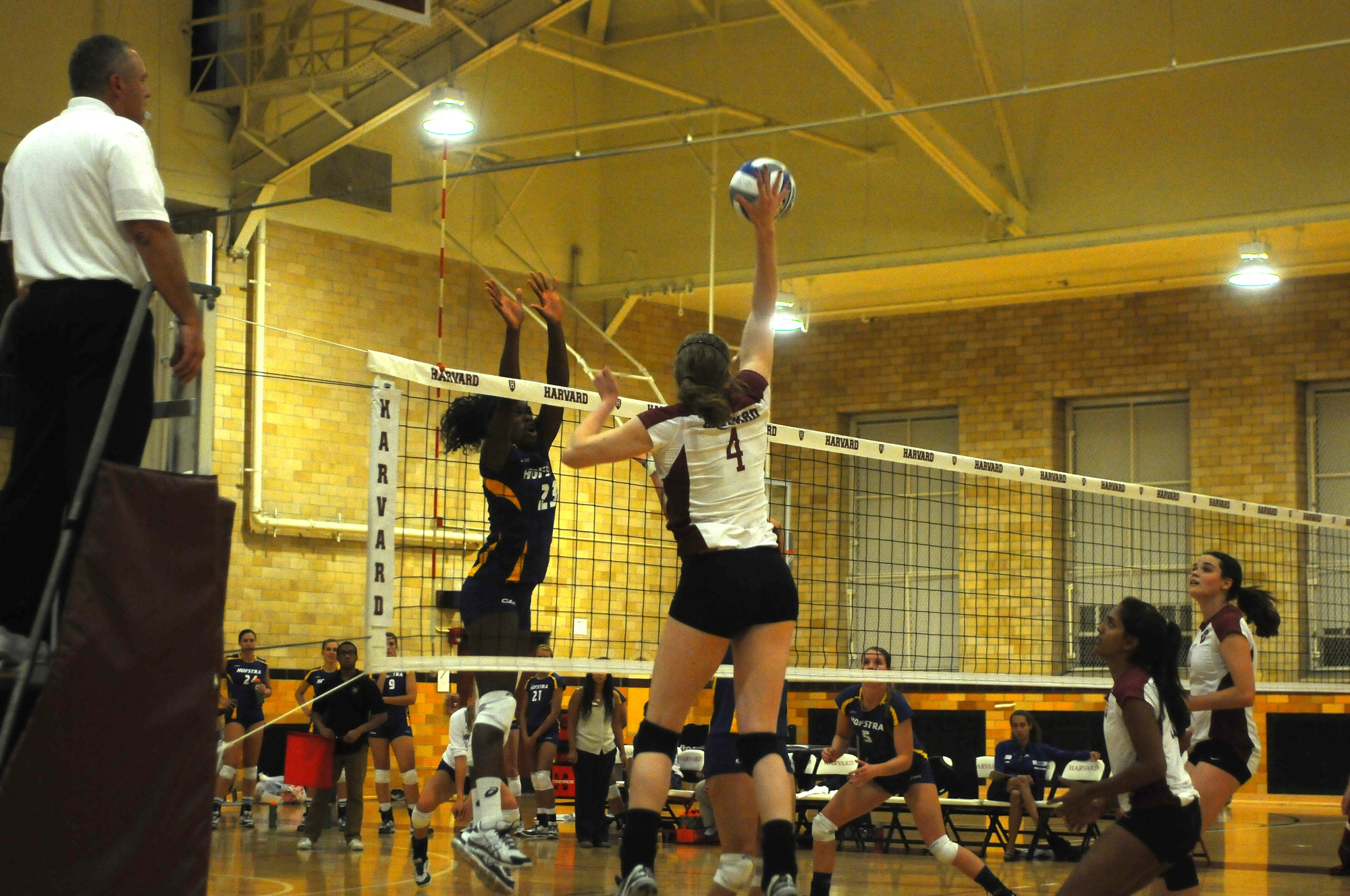 The Harvard women's volleyball team captured two of its three contests at the Benson's Hospitality Invitational, moving to 4-2 on the season.
