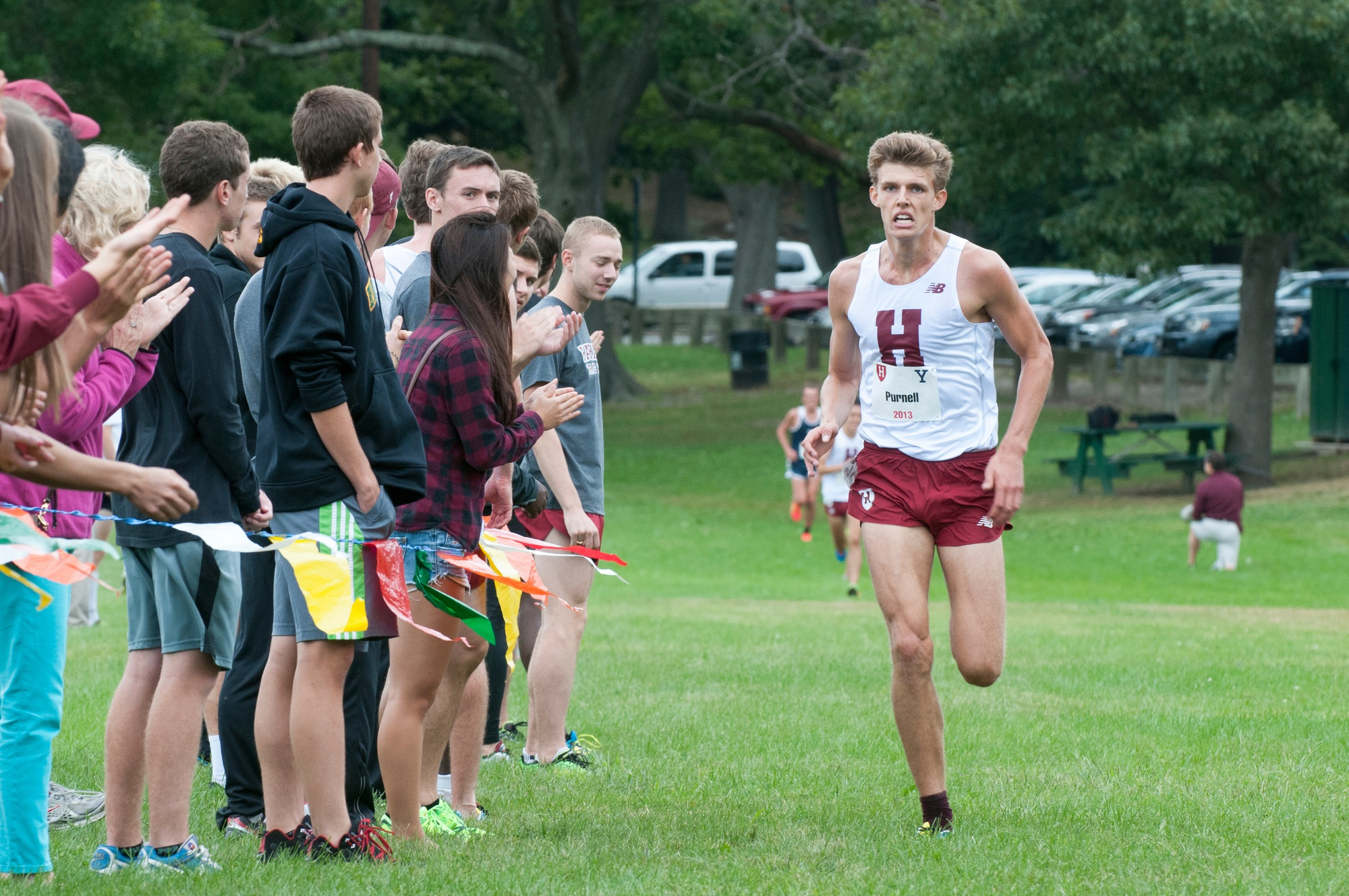 The Harvard men's and women's cross country teams could not keep up with Ancient Eight foes Princeton and Yale this past weekend, coming in third at the H-Y-P meet.