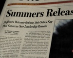 Summers Releases Transcript