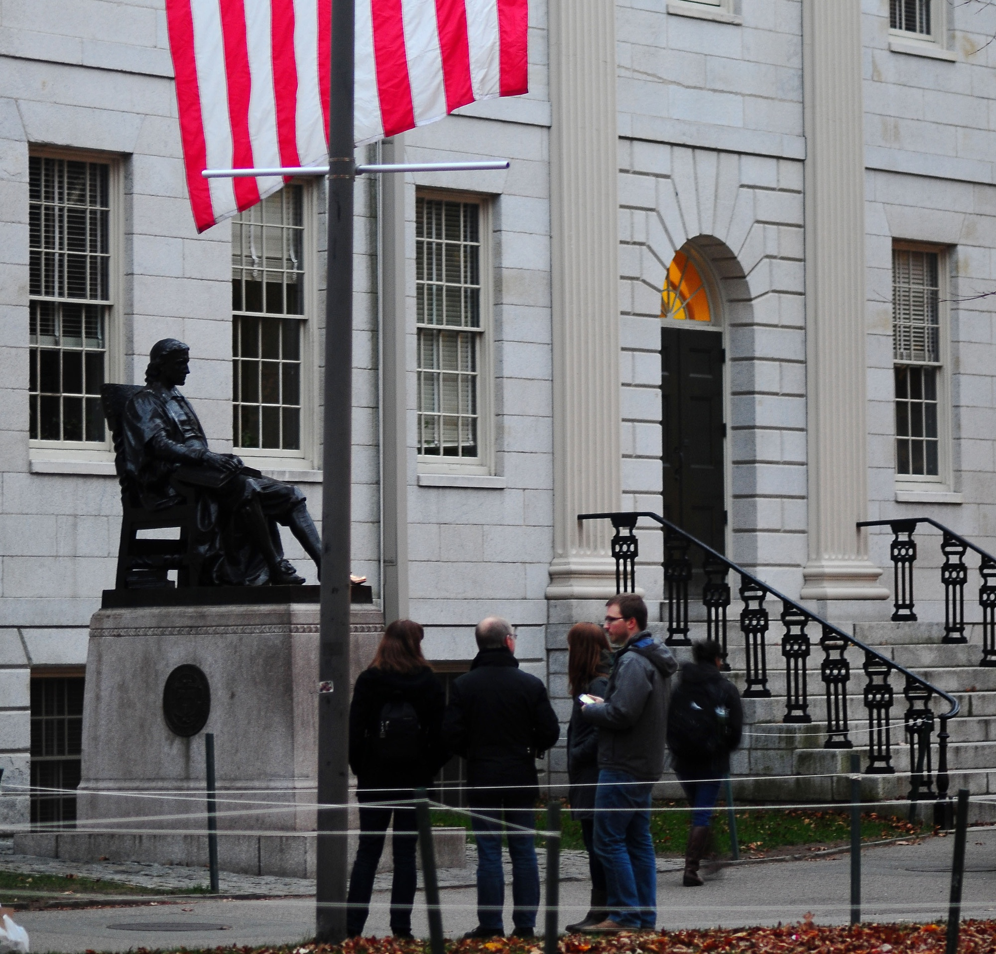 University Hall and other administrative buildings were closed on Monday in honor of Veterans Day.
