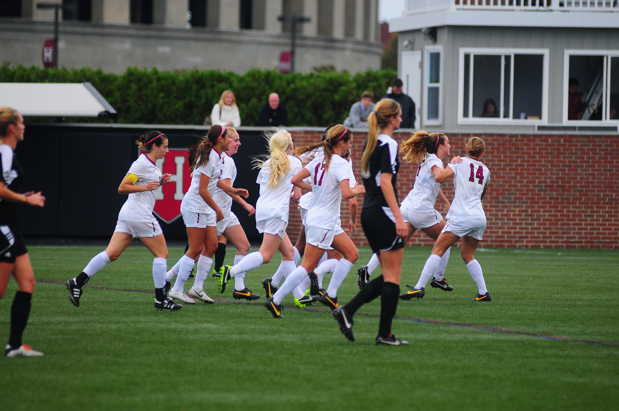 The women's soccer team took down CCSU, 6-0, in the first round of the NCAA Tournament.