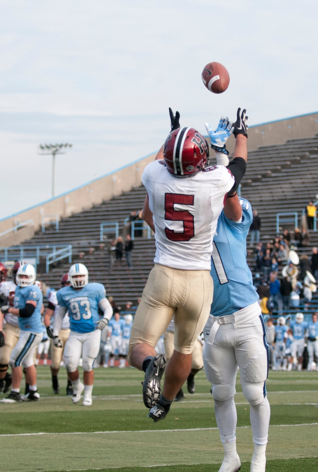 Although wide receiver Ricky Zorn '14 has not seen the field after getting injured again, he appreciates leaving for a semester instead of experiencing his senior spring on campus.