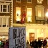 """Die-in"" in Harvard Square"