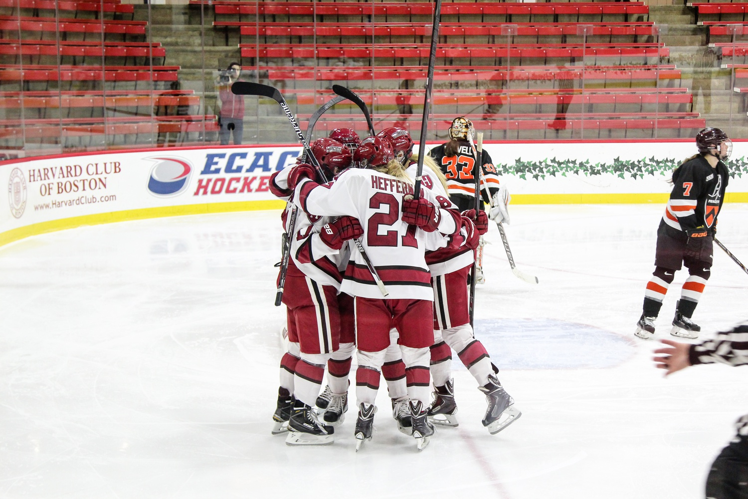 The Harvard women's hockey team may not have the record it wants heading into the bulk of conference play, but the Crimson looks to rebound when it returns in January.