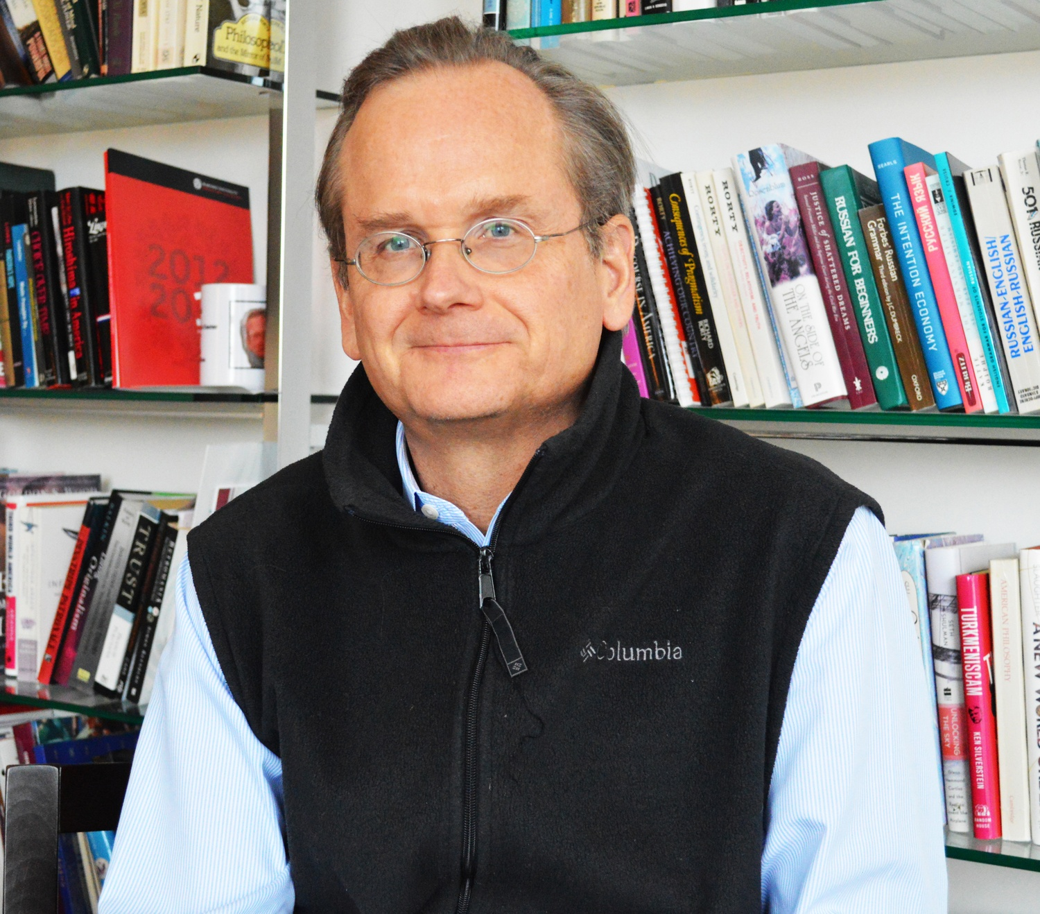 Harvard Law School's Lawrence Lessig.