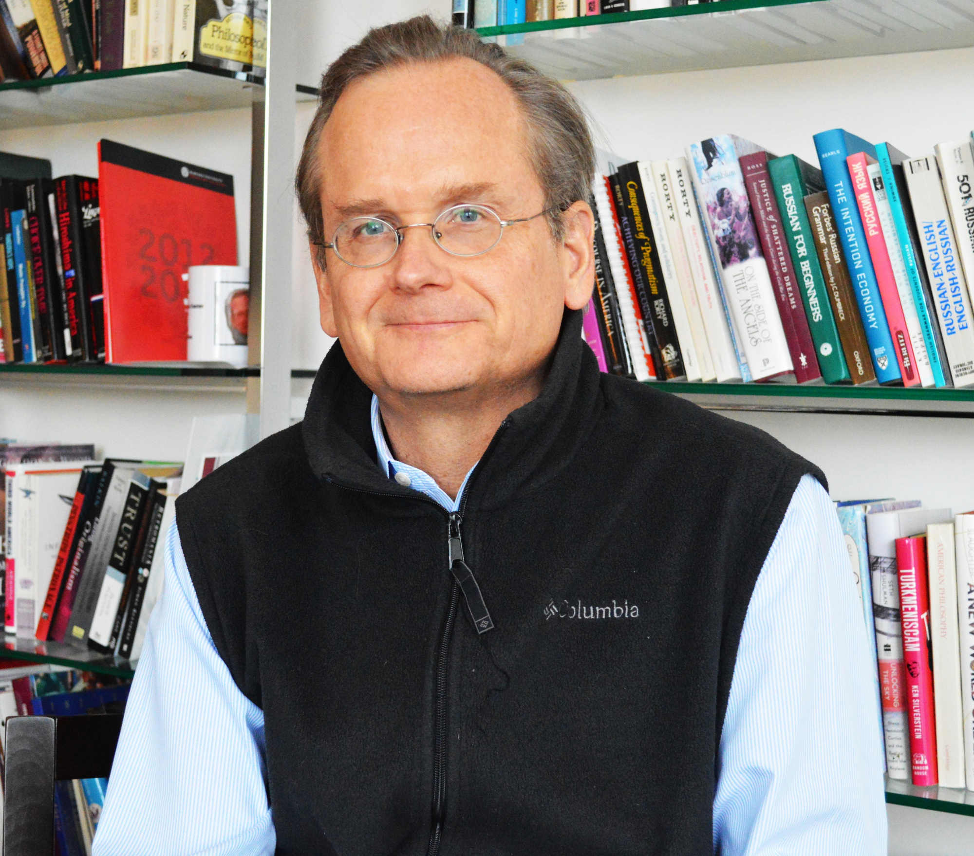 Lawrence Lessig, the Roy L. Furman Professor of Law at Harvard Law School, and Director of the Edmond J. Safra Center for Ethics, is not your average academic. He's personally engaged in seeing that his recommendations become policy, even starting Mayday PAC, devoted to supporting political candidates in favor of campaign finance reform.