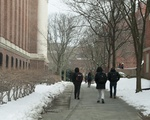 Walking to Class