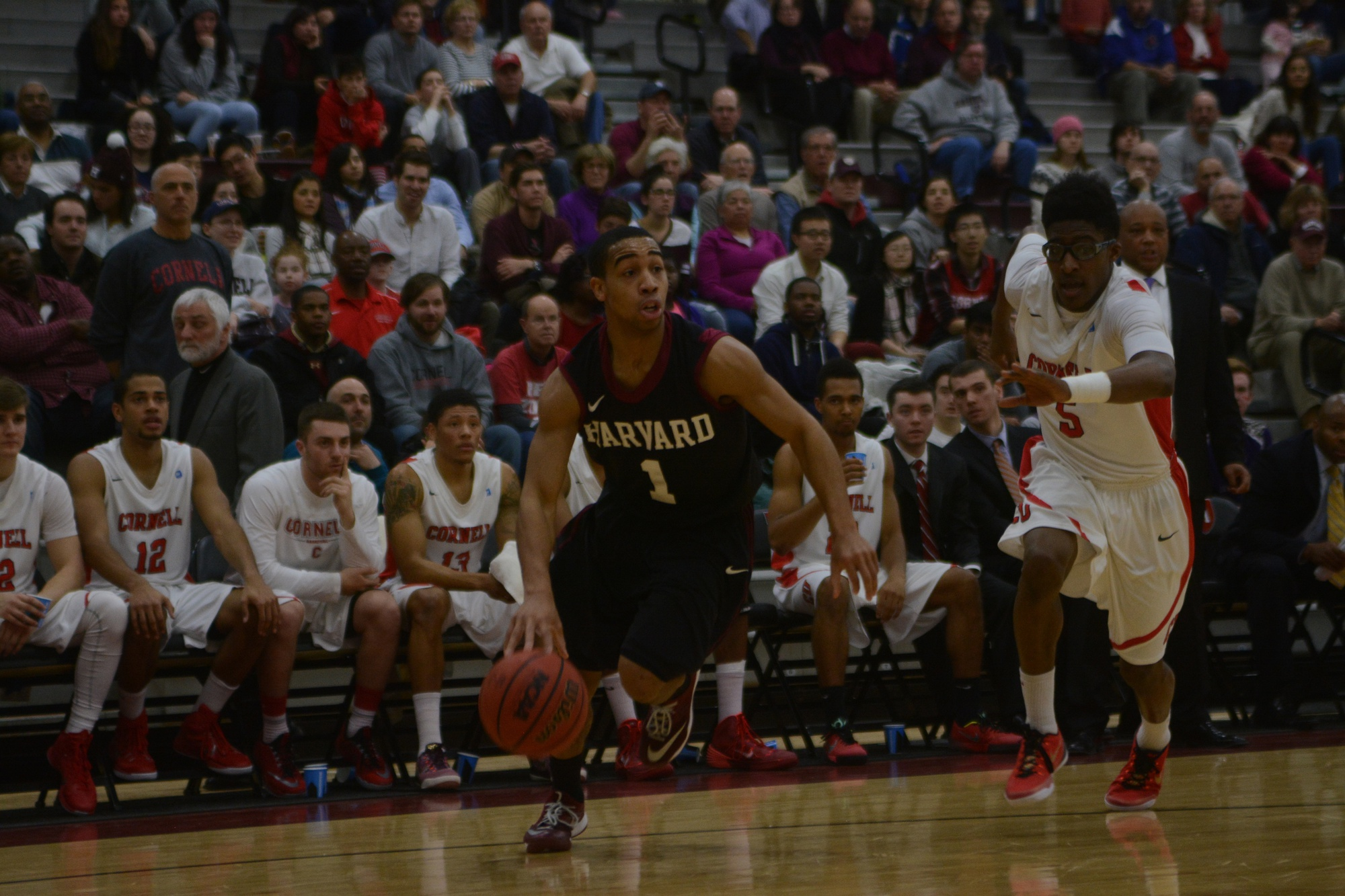 Junior co-captain Siyani Chambers says that the Harvard men's basketball team has focused on closing out games in preparation for this weekend, when the Crimson hosts Princeton and Penn. Harvard edged the Tigers earlier this year on the road before routing the Quakers at the Palestra