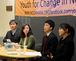 North Korean Defectors speak to Students at HRiNK Event