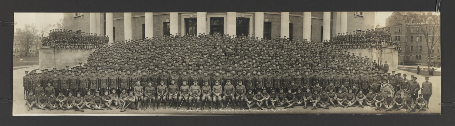 Reserve Officers Training Corps, Harvard University, Memorial Day, May 30, 1917