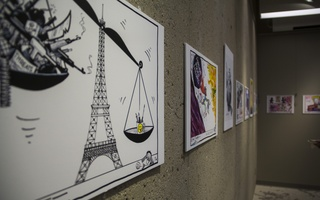 An Exhibition of Cartoons and Caricatures