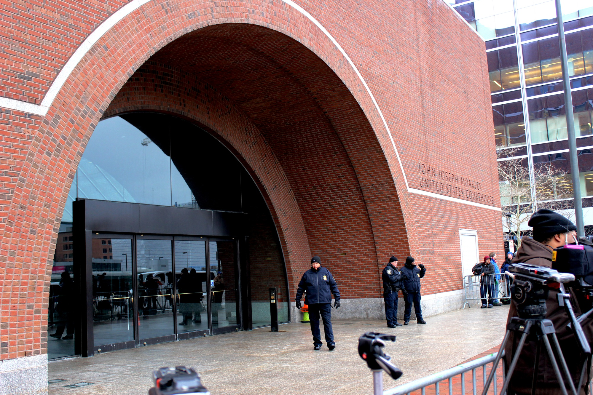 The trial of the alleged Boston Marathon bomber Dzhokhar Tsarnaev began on Wednesday morning at the John Joseph Moakley U.S. Courthouse in South Boston. The trial is expected to last several months as the defense attempts to persuade the jurors to forgo the death penalty.