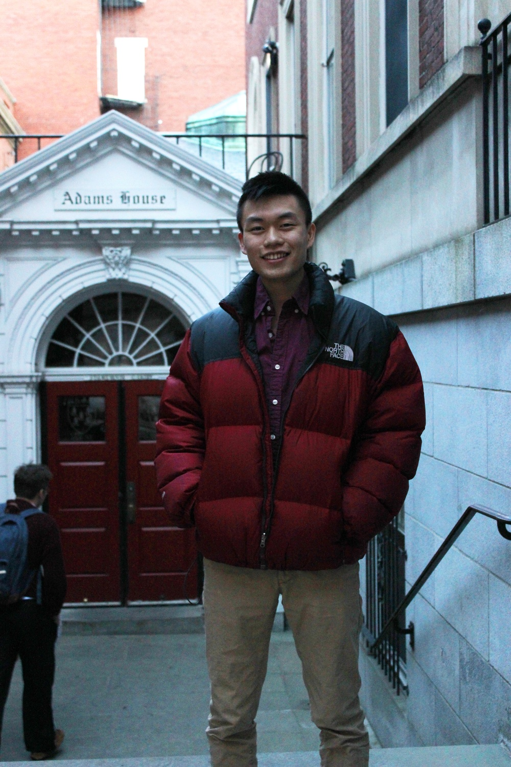 Former UC representative Kevin Liang '16 waits outside of Adams House on Monday afternoon. As a previous executive of multiple clubs, Liang often had to prioritize extracurricular activities over House events.