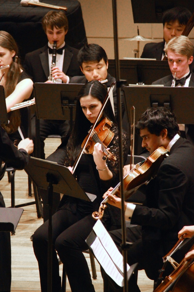 The Bach Society Orchestra performed classical works by the likes of Beethoven and Grieg on Saturday, Mar. 7.