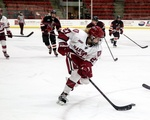 December 5, 2014 - Harvard 3, Princeton 0: Crimson freshman forward Karly Heffernan had an assist in the second period of the Harvard win.