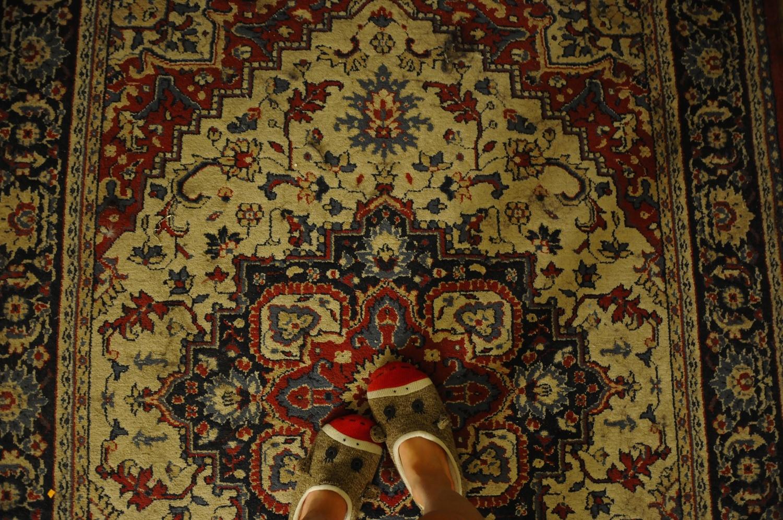 During spring break, I spent the vast majority of my time in my sock monkey slippers.