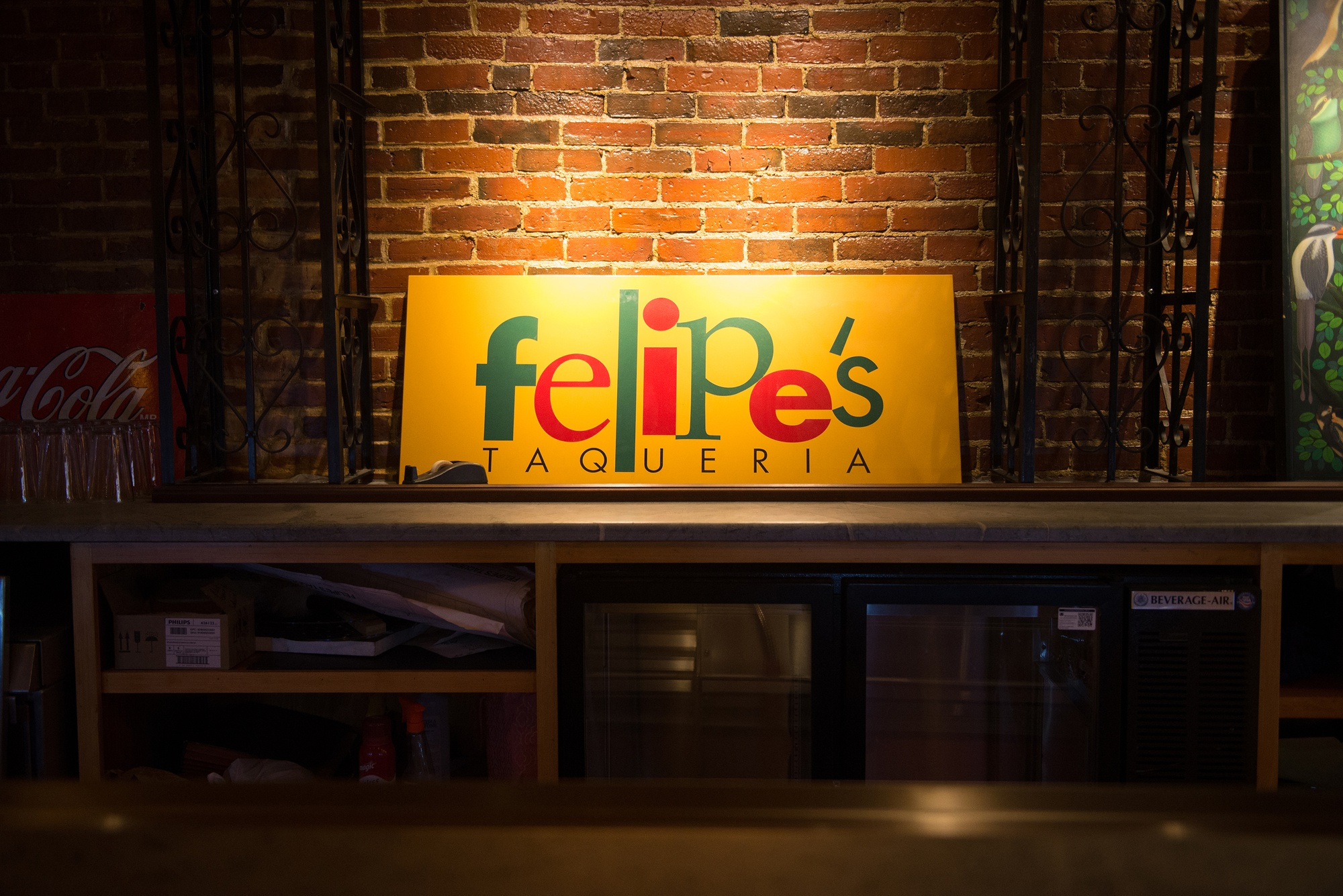 Felipe's Taqueria is expecting to serve liquor in the coming weeks at the bar in its new location on Brattle St. This follows a months-long delay to obtain their liquor license.