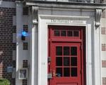 Harvard Crimson Door