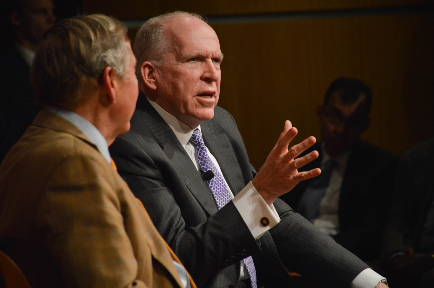 CIA Director at the IOP
