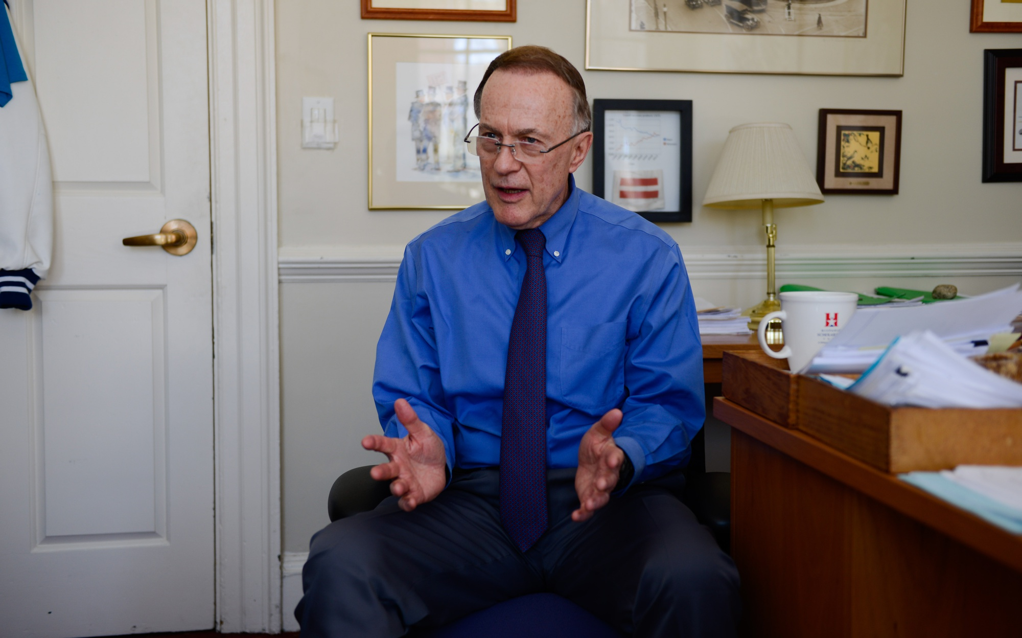 Dean of Admissions and Financial Aid William R. Fitzsimmons '67 has speculated that the Admissions Office's use of a new low-income student outreach program called Harvard College Connection may have contributed to a larger pool of applicants than in previous years.