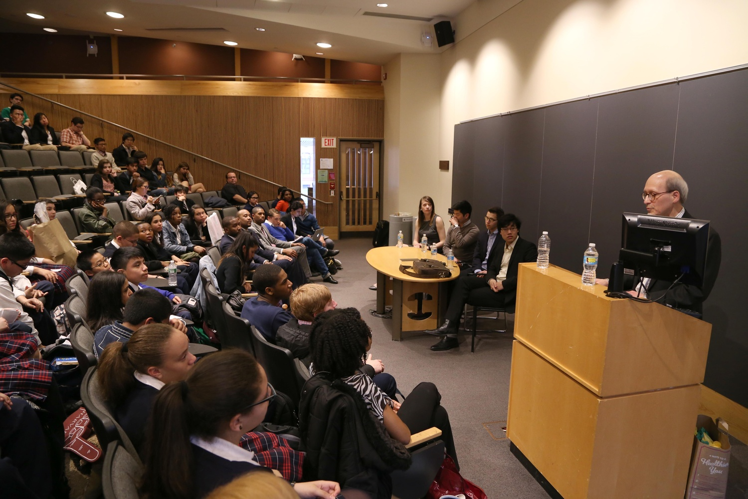 Harvard Ventures hosted an event focusing on the intersection of entrepreneurship and personal empowerment on Friday afternoon at the Fong Auditorium.