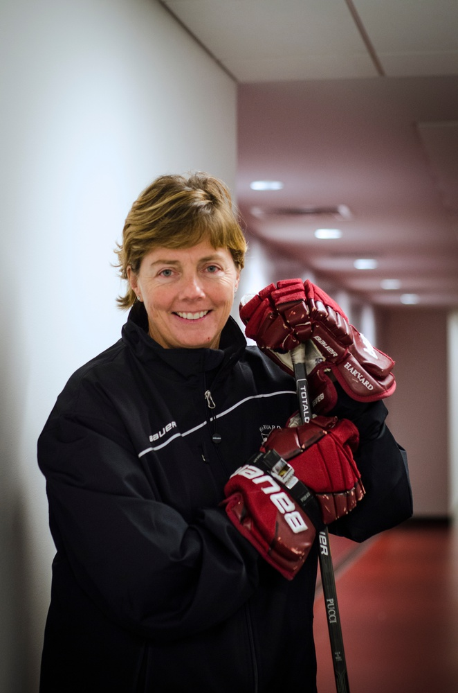 Harvard women's ice hockey coach Katey Stone led her team to a National Championship appearance this season, adding to the vast amount of success she's attained since taking over the program.