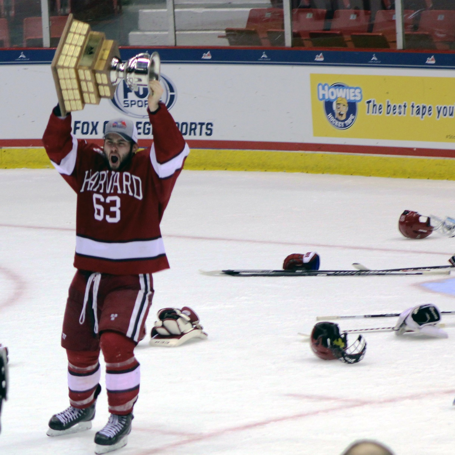 Men's ice hockey fourth-year forward Colin Blackwell came back from injury for the Crimson after not playing for nearly two seasons and was instrumental for Harvard's ECAC tournament run.