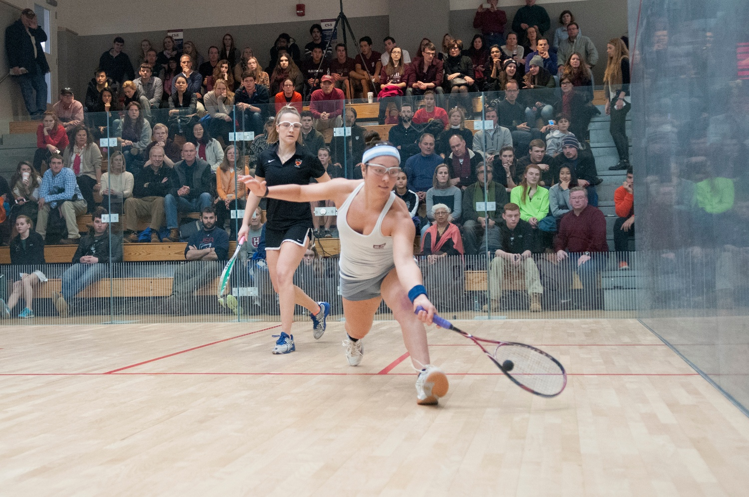 Senior Amanda Sobhy concluded her career with her fourth-straight CSA individual national championships, becoming only the second women's squash player to do so.