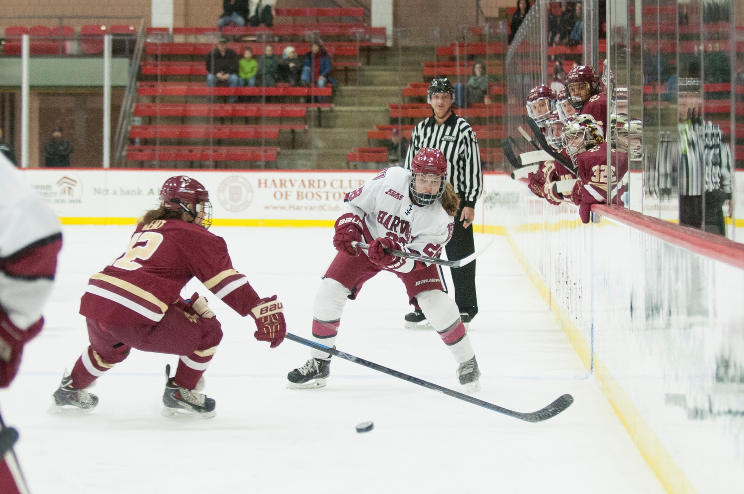 The Beanpot title came after the Crimson fell to Boston College earlier in the season by a 10-2 score.